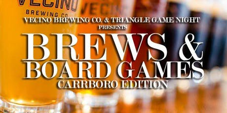 Brews & Board Games (Carrboro Edition) tickets