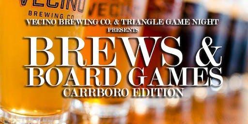 Brews & Board Games (Carrboro Edition)