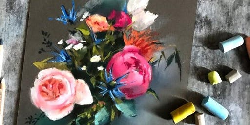 The Essence of Painting Flowers in Pastel with Kris Woodward