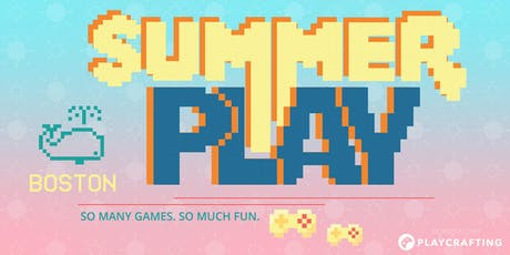 SUMMER PLAY: Boston Game Expo tickets