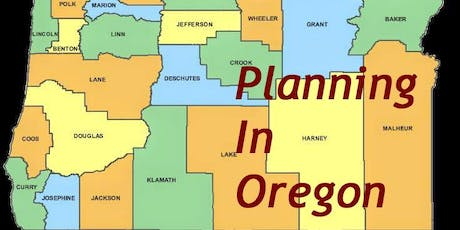 Planning in Oregon - Building Successful Communities - La Grande tickets