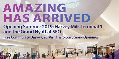 SFO Harvey Milk Terminal 1 Community Day tickets