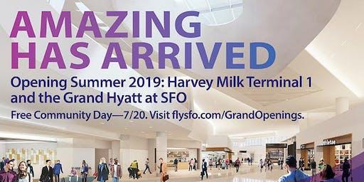 SFO Harvey Milk Terminal 1 Community Day