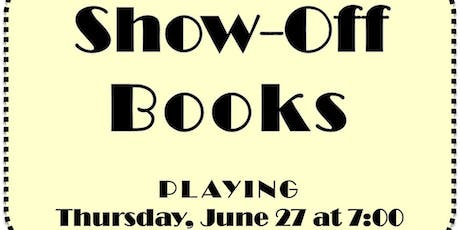 Show-Off Books tickets