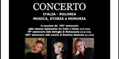 Concerto  Italia - Polonia. Musica, Storia e Memoria