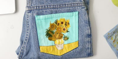 Painting on Denim with Kris Woodward