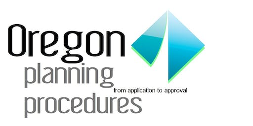 Oregon Planning Procedures - from Application to Approval - La Grande
