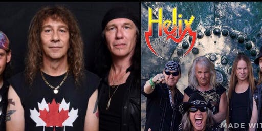 Helix, Anvil, Ammo @ Club Absinthe!