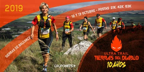 Ultra Trail Tierras del Diablo ( UTTD -2019 ) - 10 años entradas