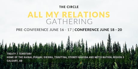 The Circle's All My Relations Gathering tickets