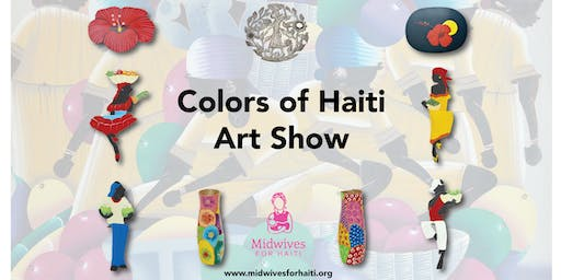 Midwives for Haiti - 2019 Colors of Haiti Art Sale