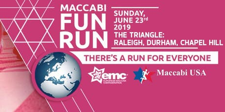 Maccabi FunRun- The Triangle: Raleigh Durham Chapel Hill tickets