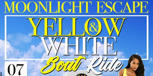 MOONLIGHT ESCAPE • YELLOW & WHITE BOAT RIDE • ST. THOMAS U.S. VIRGIN ISLANDS