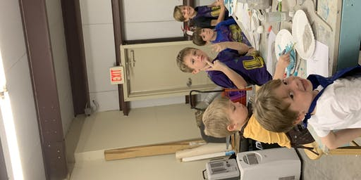 K-5th grade pottery and art camp