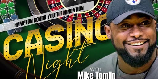Casino Night feat. Pittsburgh Steelers Head Coach Mike Tomlin