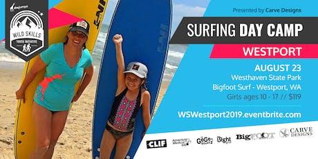 WILD SKILLS Surfing Day Camp: Westport tickets