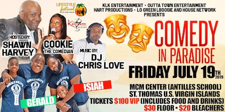 COMEDY IN PARADISE & AFTERPARTY tickets