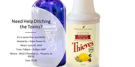 Need Help Ditching the Toxins? tickets