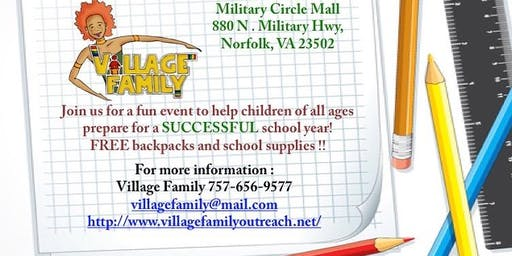 Village Family and Partners Back2School Expo
