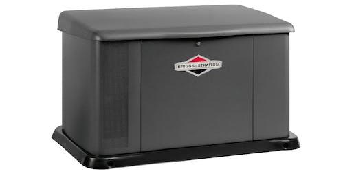 Briggs & Stratton Standby Generator Certified Installer Class 101
