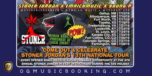 Stoner Jordan at KC's Music Alley