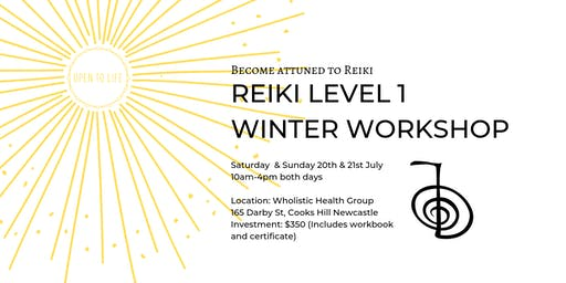 Reiki 1 - Certificate Workshop