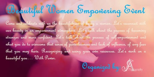 Beautiful Women Empowerment Through Photography and Networking