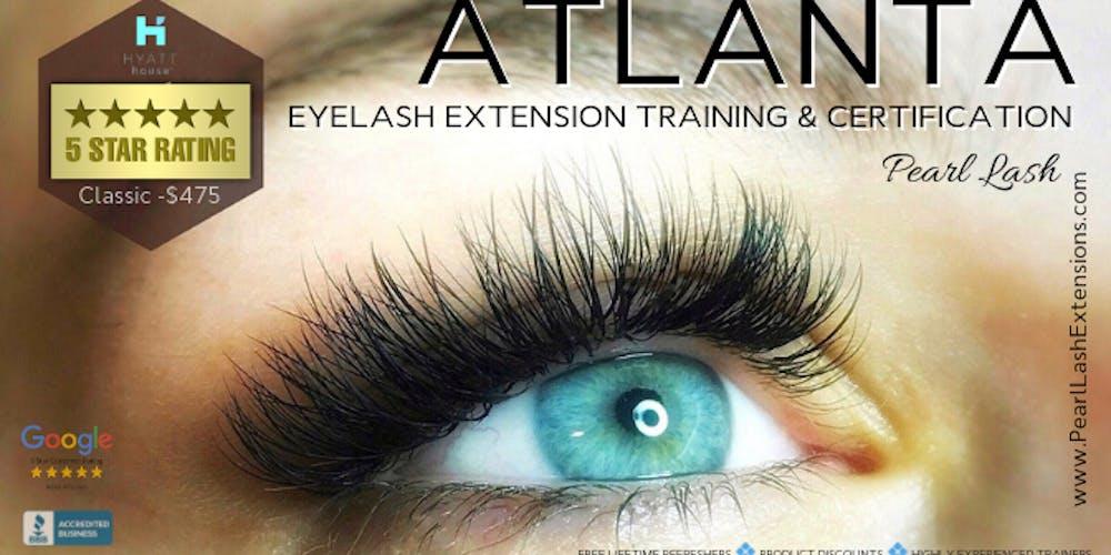 3da3cfa76a4 Classic Eyelash Extension Training Hosted by Pearl Lash Atlanta, GA  Tickets, Multiple Dates | Eventbrite