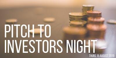 The Studio – Pitch to Investors Night