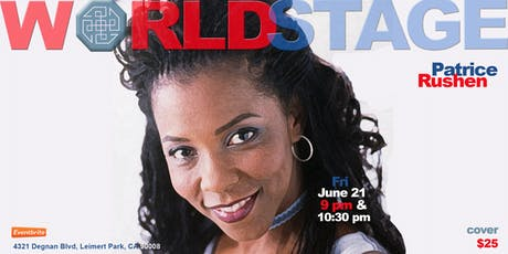 The World Stage presents *PATRICE RUSHEN*  tickets