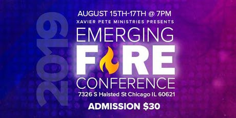 Emerging Fire Conference tickets