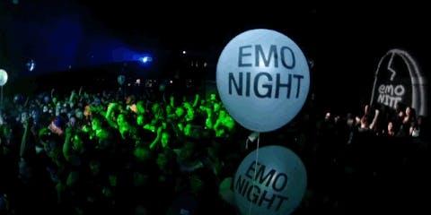 EMO NIGHT-DJ TRIBUTE TO TAKING BACK SUNDAY JIMMY EAT WORLD DASHBOARD & MORE