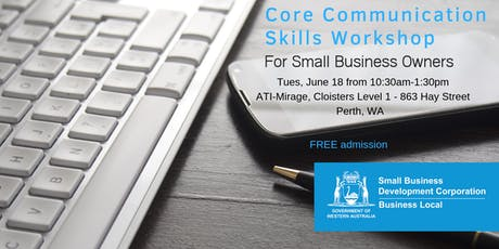 Communication Skills Workshop for Small Business Owners  tickets