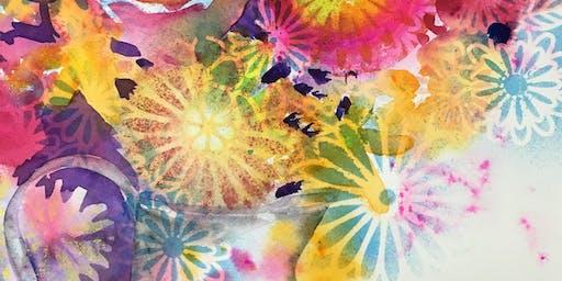 Splash II Special Edition Watercolor Class - Flower Fantasy