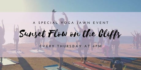 Sunset Yoga on the Cliffs Thursday Nights tickets