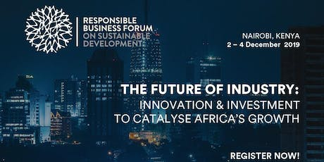 Responsible Business Forum Africa 2019 tickets