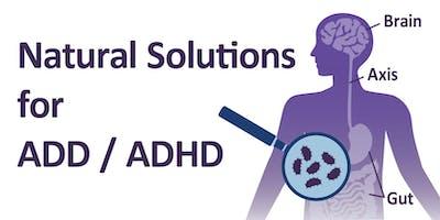 Natural Solutions for ADD / ADHD Salt Lake City, Utah