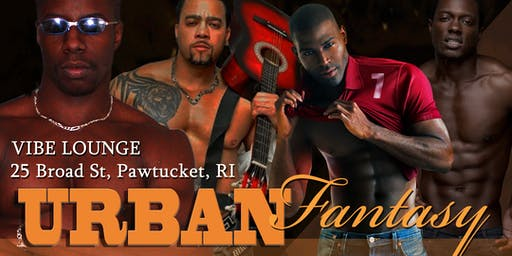 """A Chocolate Fantasy"" Urban Male Revue Rhode Island"