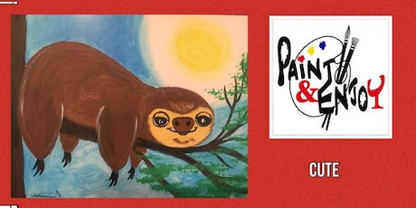 """Paint and Enjoy-Rustic Cup, East Prospect """"Cute"""" tickets"""