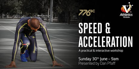 Speed & Acceleration with Dan Pfaff tickets