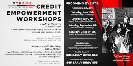 Credit & Daquiri's (Sip N Learn) tickets