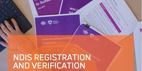 NDIS Registration 101 - Queanbeyan tickets