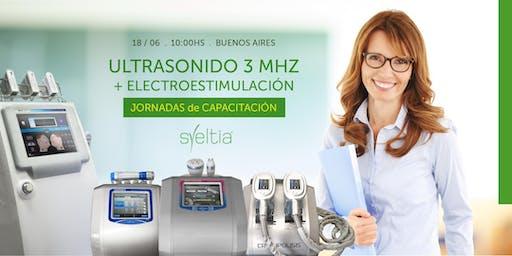 Ultrasonido 3 Mhz y Electroestimulación