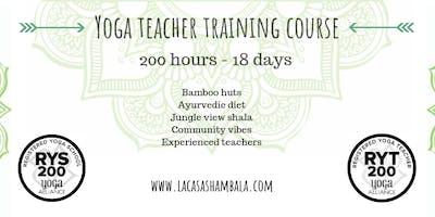 Jan 2020: 18 Day 200 Hour Hatha & Vinyasa Yoga Teacher Training Koh Phangan