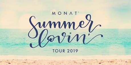 MONAT Summer Lovin' Tour - Savannah, GA tickets