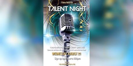 Talent Night Open Mic tickets