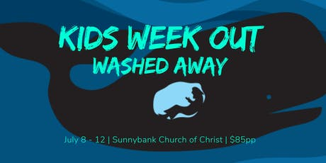 Kids Week Out - Washed Away!  tickets