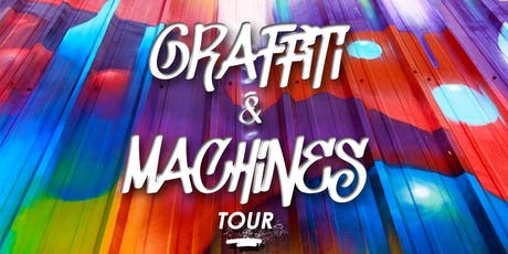 """Graffiti & Machines"" with Steve Grody - DTLA Arts District  tickets"