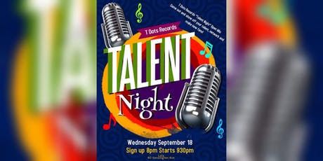 Talent Night Open Mic tickets