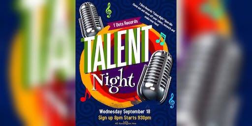 Talent Night Open Mic